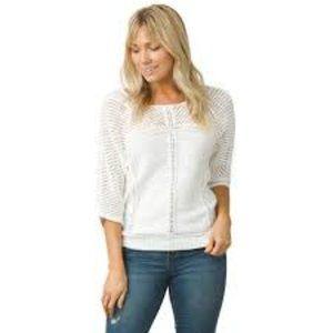 Prana GetUp 100% Organic Cotton Knit Sweater